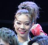 ライブ舞台『THE YOUNG LOVE DISCOTHEQUE 2019』の公開前囲み取材に出席したsuzuyaka (C)ORICON NewS inc.