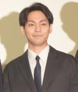 映画『泣くな赤鬼』の完成披露舞台あいさつに出席した柳楽優弥 (C)ORICON NewS inc.