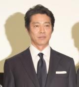 映画『泣くな赤鬼』の完成披露舞台あいさつに出席した堤真一 (C)ORICON NewS inc.