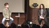 ソロアルバム『留まらざること 川の如く』リリースを記念した朗読会&トークイベントを開催した宮沢和史(左)とゲストの又吉直樹 (C)ORICON NewS inc.