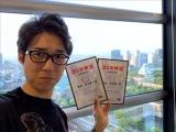 司会は松苗竜太郎アナウンサー(NHK大阪放送局)=NHKラジオ第1の番組『襲来!ゴジラジオ』6月2日生放送(C)新日本プロレス