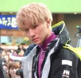デビューアルバム『BALLISTIK BOYZ』のリリース記念イベントに出席した松井利樹 (C)ORICON NewS inc.