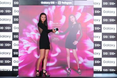 『Galaxy S10』のPRイベントに参加したKoki,