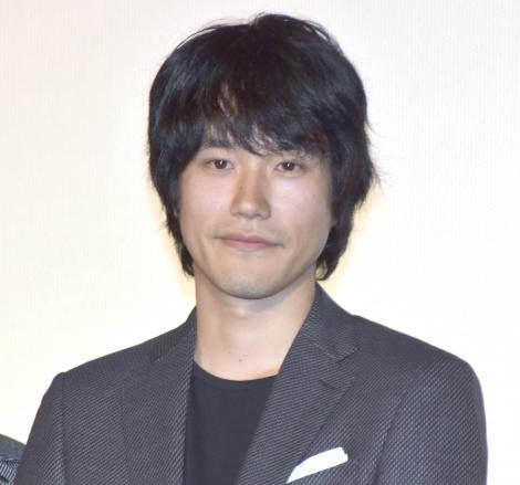 映画『プロメア』の公開記念前夜祭イベントに登場した松山ケンイチ (C)ORICON NewS inc.