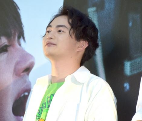 映画『小さな恋のうた』公開前夜祭フリーライブイベントを開催した森永悠希 (C)ORICON NewS inc.