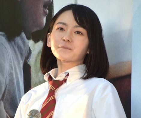 映画『小さな恋のうた』公開前夜祭フリーライブイベントを開催した山田杏奈 (C)ORICON NewS inc.