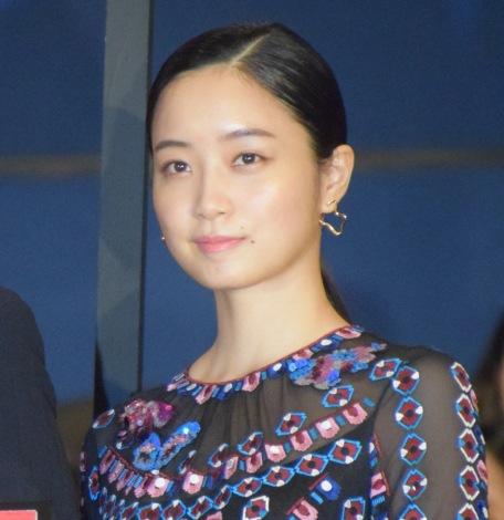 映画『空母いぶき』の初日舞台あいさつに出席した深川麻衣 (C)ORICON NewS inc.