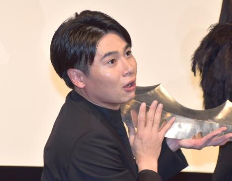 映画『キングダム』の公開直前イベントに参加した平成ノブシコブシ・吉村崇 (C)ORICON NewS inc.