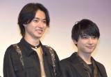 映画『キングダム』の公開直前イベントに参加した(左から)山崎賢人、吉沢亮 (C)ORICON NewS inc.