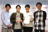 『ポケモン企業対抗戦』で優勝したUUUM株式会社の方々 (C)ORICON NewS inc.