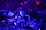 小倉誠司(Dr)=全国ホールツアー『flumpool 9th tour「Command Shift Z」』東京国際フォーラム ホールA公演より Photo by 岸田哲平
