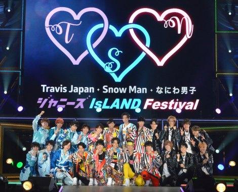 19年ぶりに東京D単独公演が決定したジャニーズJr. のなにわ男子、Snow Man、Travis Japanたち (C)ORICON NewS inc.