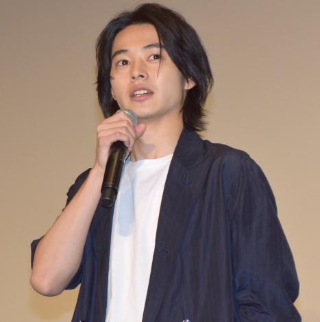 映画『キングダム』の超大ヒット御礼舞台あいさつに参加した山崎賢人 (C)ORICON NewS inc.