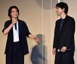 映画『キングダム』の超大ヒット御礼舞台あいさつに参加した(左から)山崎賢人、吉沢亮 (C)ORICON NewS inc.