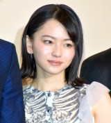 映画『小さな恋のうた』の公開記念舞台あいさつに登壇した山田杏奈 (C)ORICON NewS inc.