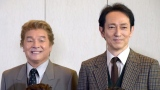 舞台『BACKBEAT』囲み取材に出席した(左から)尾藤イサオ、鈴木壮麻 (C)ORICON NewS inc.