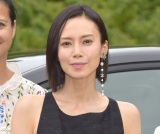 『フランス映画祭2019横浜』のラインアップ発表記者会見に出席した中谷美紀 (C)ORICON NewS inc.