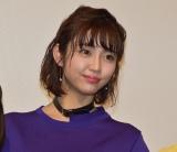 映画『耳を腐らせるほどの愛』完成披露の舞台あいさつに参加した山谷花純 (C)ORICON NewS inc.