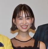 映画『耳を腐らせるほどの愛』完成披露の舞台あいさつに参加した森川葵 (C)ORICON NewS inc.