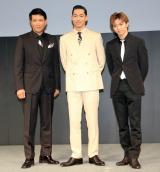 『ショートショートフィルムフェスティバル&アジア』のスペシャルスクリーニングに出席した(左から)別所哲也、AKIRA、佐藤大樹 (C)ORICON NewS inc.
