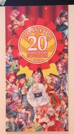 20周年『Japan Expo』のビジュアルロゴ (C)ORICON NewS inc.