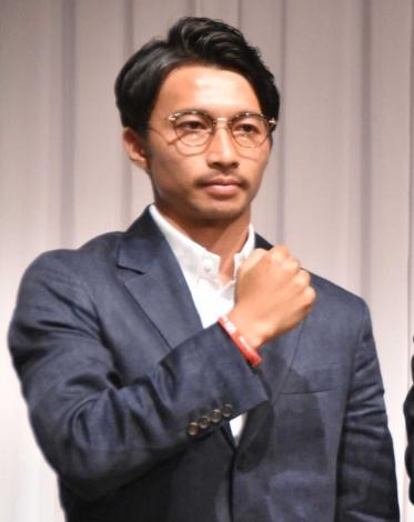 『UDN Foundation』設立記者会見に出席した柴崎岳選手 (C)ORICON NewS inc.