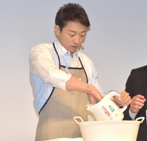 『ティファール 新商品発表会』に参加した山本耕史 (C)ORICON NewS inc.