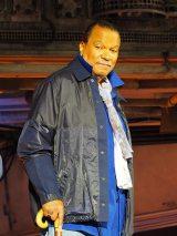 カリフォルニアのディズニーランド・パークで行われた『スター・ウォーズ:ギャラクシーズ・エッジ』のオープニング・セレモニーに登壇したビリー・ディー・ウィリアムズ (C)ORICON NewS inc.