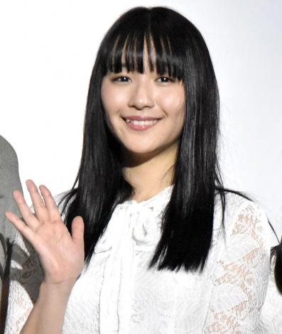 ホラー映画『黒い乙女Q』公開記念舞台あいさつに登壇した浅川梨奈 (C)ORICON NewS inc.