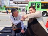 6月16日放送、テレビ朝日系『路線バスで寄り道の旅』ゴールデンスペシャルにマツコ・デラックスが初参戦(C)テレビ朝日