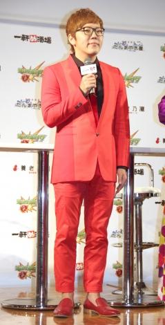 『モンスト×養老乃瀧グループ』スペシャルコラボキャンペーンお披露目イベントに出席したHIKAKIN (C)ORICON NewS inc.