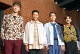 新作舞台公演『The Library』初日を迎えたs**t kingz(写真左から)NOPPO、shoji、Oguri、kazuki (C)ORICON NewS inc.