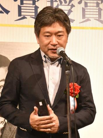 『第38回藤本賞』の授賞式に出席した是枝裕和監督 (C)ORICON NewS inc.