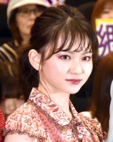 映画『小さな恋のうた』大ヒット舞台あいさつに登壇した山田杏奈 (C)ORICON NewS inc.