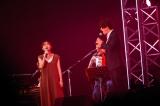 マルシャショーラ Special Guest Bandコーナー「桜坂」(左から)藤原さくら、TAKE Photo by 上山陽介