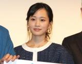 映画『旅のおわり世界のはじまり』完成披露舞台あいさつに出席した前田敦子 (C)ORICON NewS inc.