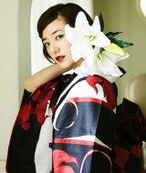 浴衣ブランド「C.R.E.A.M」のイメージモデルに就任した伊藤千晃