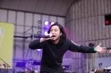 『日比谷音楽祭』2日目の「Hibiya Dream Session 2」に出演したCreepy Nuts(6月2日=日比谷野外音楽堂)