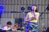 『日比谷音楽祭』2日目の「Hibiya Dream Session 2」に出演した新妻聖子(6月2日=日比谷野外音楽堂)
