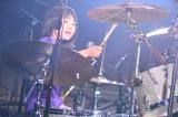 『日比谷音楽祭』2日目の「Hibiya Dream Session 3」に出演したよよか(6月2日=日比谷野外音楽堂)