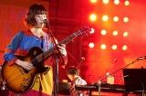 『日比谷音楽祭』2日目の「Hibiya Dream Session 3」に出演したRei(6月2日=日比谷野外音楽堂)