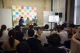『高知家プロモーション』発表会に登場した島崎和歌子