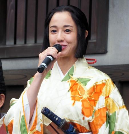 NHK大河ドラマ『麒麟がくる』の取材会に出席した沢尻エリカ (C)ORICON NewS inc.