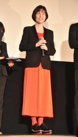 映画『新聞記者』完成披露上映会に出席したシム・ウンギョン (C)ORICON NewS inc.