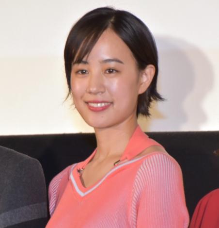 映画『いちごの唄』完成披露試写会イベントに参加した石橋静河 (C)ORICON NewS inc.