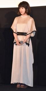 映画『いちごの唄』完成披露試写会イベントに参加した岸井ゆきの (C)ORICON NewS inc.