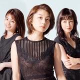 木曜ドラマF『わたし旦那をシェアしてた』に出演する(左から)岡本玲、小池栄子、りょう (C)読売テレビ