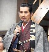 NHK大河ドラマ『麒麟がくる』の取材会に出席した本木雅弘 (C)ORICON NewS inc.