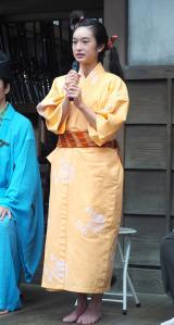 NHK大河ドラマ『麒麟がくる』の取材会に出席した門脇麦 (C)ORICON NewS inc.