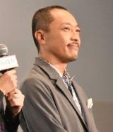 映画『凪待ち』の完成披露試写会に登壇した音尾琢真 (C)ORICON NewS inc.